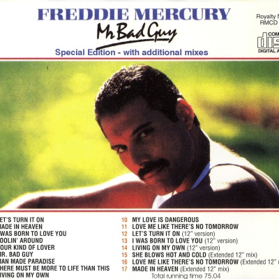 Freddie Mercury - Mr. Bad Guy (Special Edition) (Album)