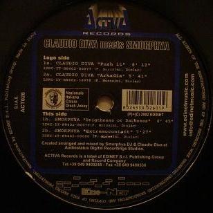 Claudio Diva - Push It Vinyl (LP)