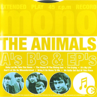 The Animals - A's B's & EP's (Compilation)