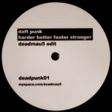Daft Punk - Harder Better Faster Stronger Deadmau5 Edit Vinyl