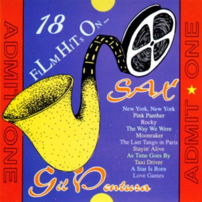 Gil Ventura - 18 Film Hits on Saxophone