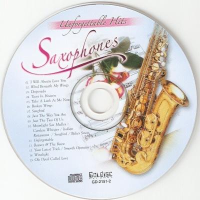 VARIOUS ARTISTS - Unforgettable Hits (Saxophones)
