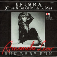 Amanda Lear ‎ - Enigma (Give A Bit Of Mmh To Me)