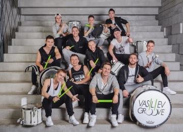 «Васильев Грув» записали гимн барабанщиков