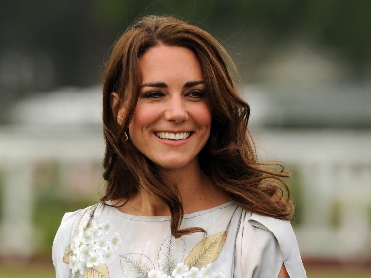 Кейт Миддлтон удивила стройной фигурой на приеме в Букингемском дворце