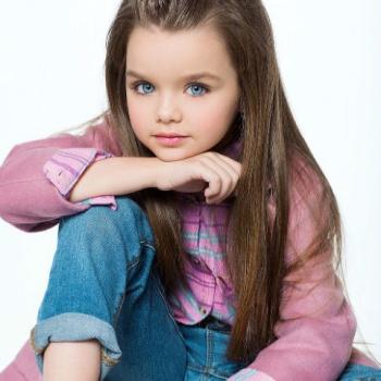 Шестилетняя россиянка признана самой красивой девочкой в мире