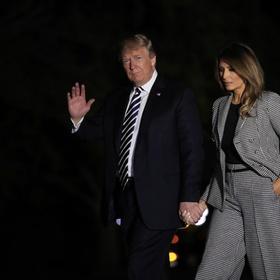 Трамп забыл имя своей жены