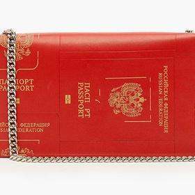 Модный бренд делает сумки-паспорта