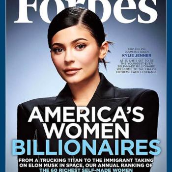 Кайли Дженнер появилась на обложке Forbes