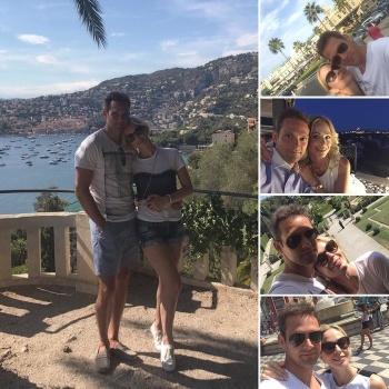 Актриса Ирина Медведева привезла французского мужа в Москву