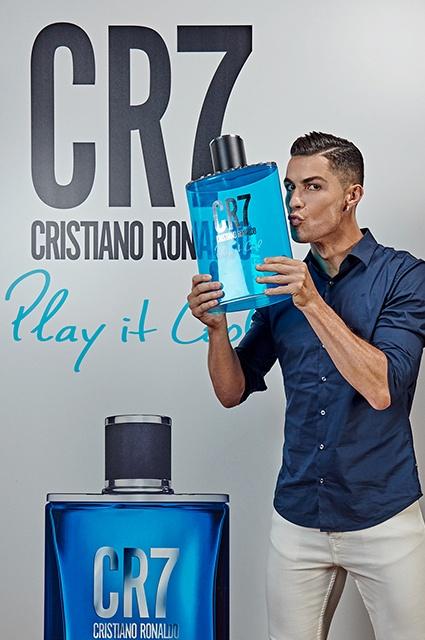 Криштиану Роналду презентовал именной парфюм