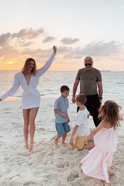 Елена Перминова отдыхает на Мальдивах вместе с семьей