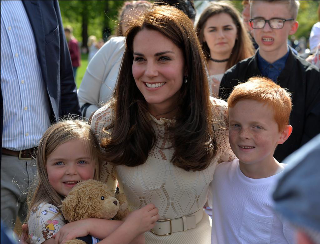 Охрана королевской семьи не смогла защитить детей Кейт Миддлтон и принца Уильяма